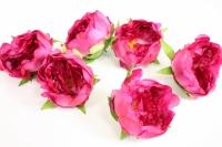 цветок пиона большой в упаковке 6шт, d=15см - малиновый kwla288f 6166