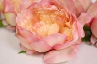 цветок пиона большой в упаковке 6шт, d=15см - розовый kwla288r 6197