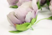 цветок пиона большой в упаковке 6шт, d=15см - сирень kwla288sz 6203