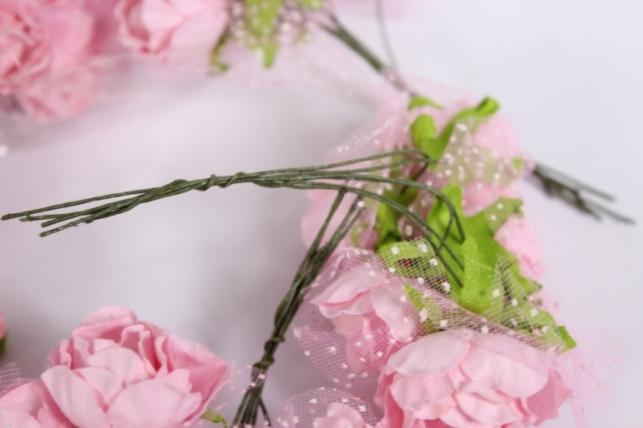 цветы бумажные  (144шт в уп)  микс 4708