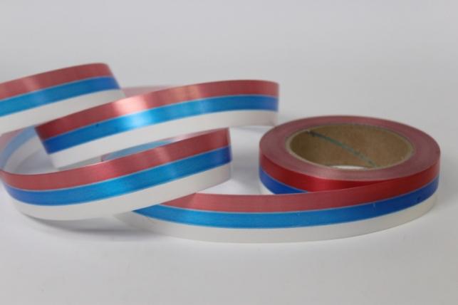 Декоративная Лента 3х50м простая Российский флаг
