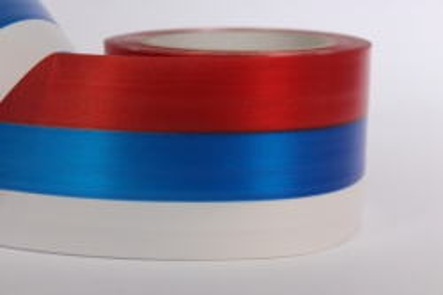 Декоративная Лента 8х50м простая Российский флаг P820