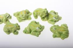 липучки декоративная липучка флористическая - 1258 лягушки на липучке (24шт) 2490