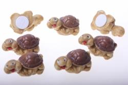 липучки декоративная липучка флористическая - 1814 черепаха (12шт в уп) 2489