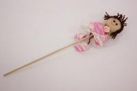 декоративная вставка девочка - розовая psb-01