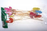 вставки декоративная вставка флористическая - 9522 вставка  улитка (12шт в уп) 2029