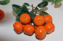 искусственные фрукты декоративные искусственные фрукты - апельсин 992