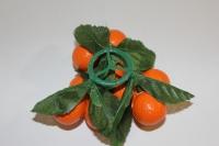 искусственные фрукты - апельсин декоративный декоративные искусственные фрукты - апельсин на кольце 992