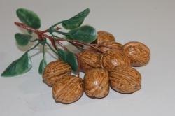 искусственные фрукты декоративные искусственные фрукты - грецкий орех 992