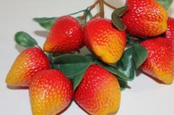 Декоративные Искусственные фрукты - Клубника