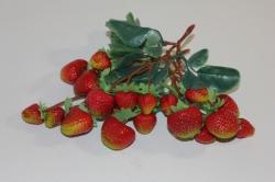 искусственные фрукты декоративные искусственные фрукты - клубника 992