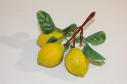 искусственные фрукты декоративные искусственные фрукты - лимон 992