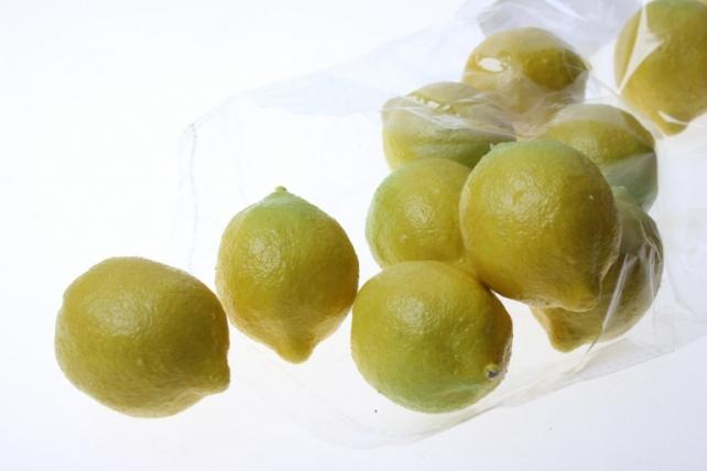 искусственные фрукты декоративные искусственные фрукты - набор лимонов искусственных 4,5 см (12шт) лимон gbd7821sd1 6079