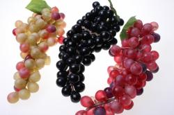 Декоративные Искусственные фрукты - Виноград Гигант в ассортименте