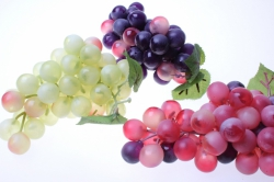 Декоративные Искусственные фрукты - Виноград крупный в ассортименте