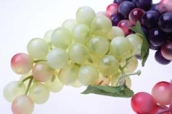 искусственные фрукты декоративные искусственные фрукты - виноград крупный в ассортименте 6009