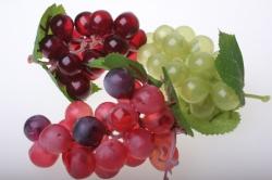 Декоративные Искусственные фрукты - Виноград разноцветный размер большой
