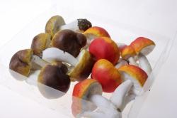 искусственные фрукты декоративные искусственные грибы - набор грибов искусственных 5,5см (12шт) грибы gbdm065-1-2 6074