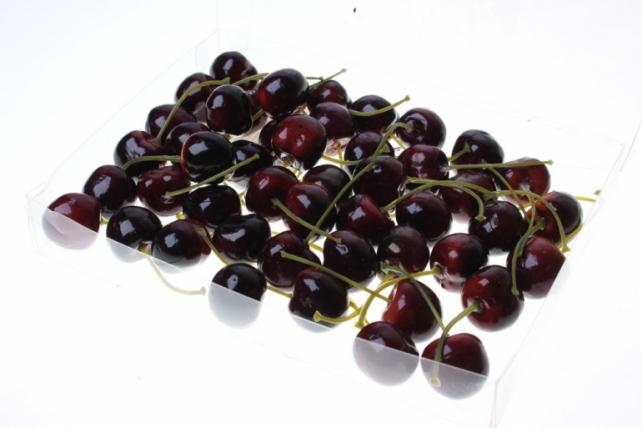 искусственные фрукты декоративные искусственные ягоды - набор черешни искусственной 2см (48шт) бордовая черешня gbd7813-2p 6081
