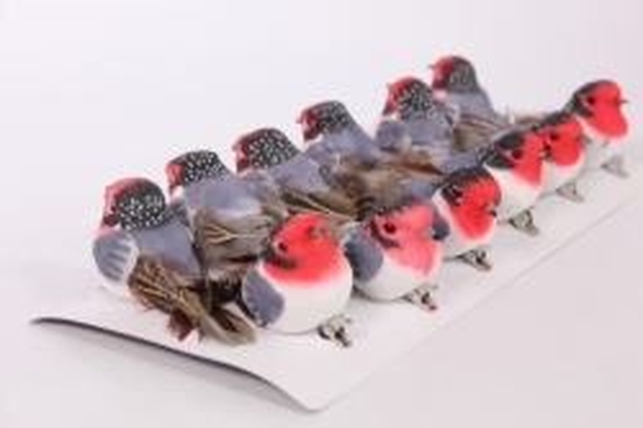 Декоративные Птички (12шт в уп) - 01A939ABC 8939