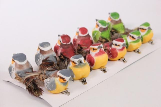 Декоративные Птички (12шт в уп) - 15187 8946