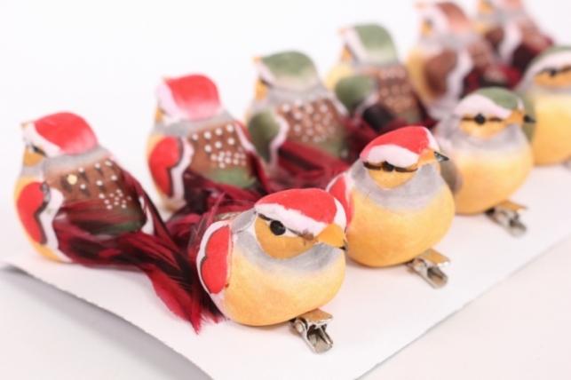 Декоративные Птички (12шт в уп) - 16328 8991
