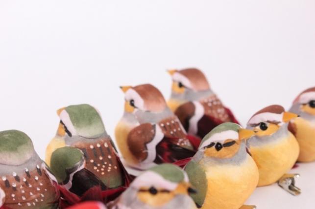 декоративные птички (12шт в уп) - 16328 8991 18386