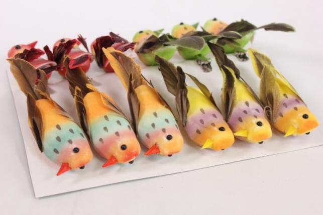 декоративные птички (12шт в уп) - 281792 2590 18388