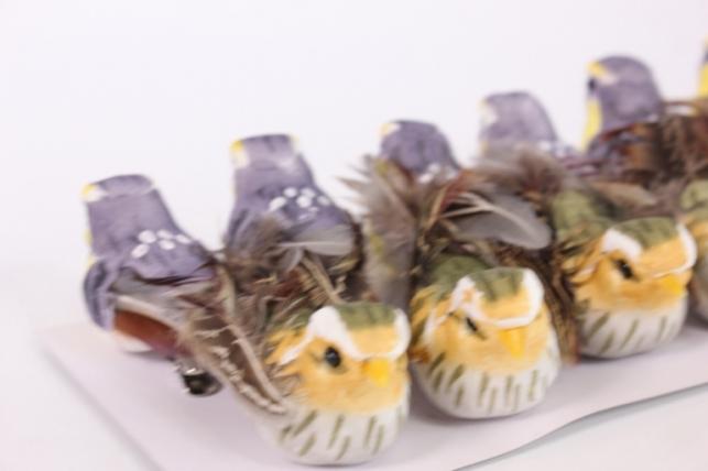 декоративные птички (12шт в уп) - fy16abl05 6469 18389