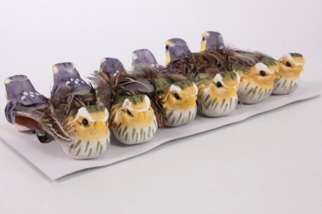 Декоративные Птички (12шт в уп) - FY16ABL05 6469
