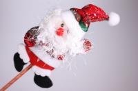 Декоративные вставки - Вставка Дед Мороз из ткани большой h=45см (1шт)
