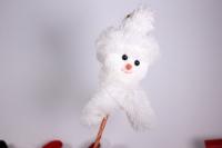 Декоративные вставки - Вставка Снеговик из ткани большой h=45см (1шт)