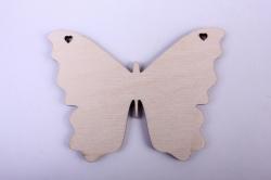Деревянная заготовка - Бабочка 4 10*4*7,6см, фанера 4мм  9-8-604