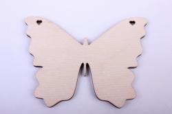 Деревянная заготовка - Бабочка 6 10*8см, фанера 4мм  9-8-606