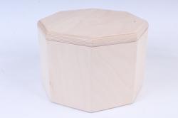 Деревянная заготовка - Бочонок восьмигранный широкий