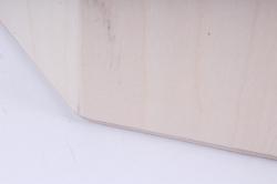 деревянная заготовка - бочонок восьмигранный широкий 265*170мм