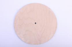 Деревянная заготовка - Часы №3, диаметр 25см, фанера 6мм 302050
