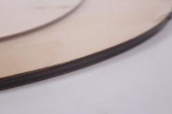деревянная заготовка - часы сова, d=35см, основа фанера 6мм, накладки  3мм  302042