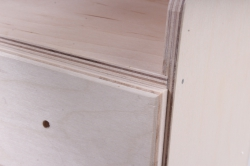 деревянная заготовка - держатель для полотенец с полкой
