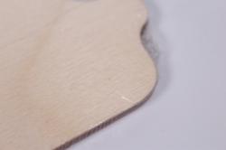 деревянная заготовка - доска №1 (12х17см) фанера 4мм (код 503277)