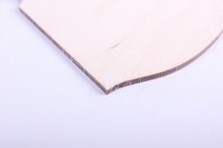 деревянная заготовка - доска №5 14*17см, фанера 4мм 503291