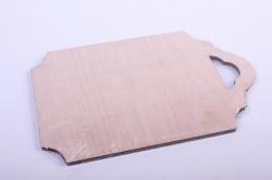 деревянная заготовка - доска №7 17*11см, фанера 4мм 503296
