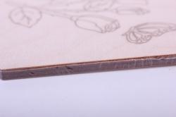 """деревянная заготовка - доска для выжигания и росписи """"любимой маме"""" 18*11см, фанера 4мм  402057"""