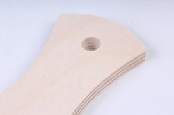 деревянная заготовка - доска классическая средняя