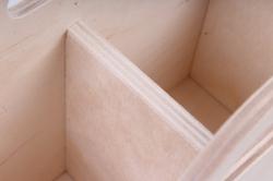 деревянная заготовка - карандашница сумка