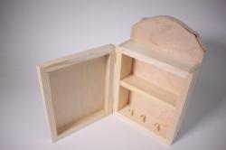 деревянная заготовка - ключница 26*16см, глубина 8см