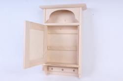 деревянная заготовка - ключница большая с отделением под мелочи