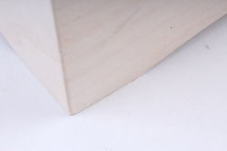 деревянная заготовка - конфетница
