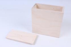 деревянная заготовка - короб для сыпучих 150*70*160мм