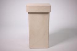 Деревянная заготовка - Короб для сыпучих высокий 10х10 h=22cм